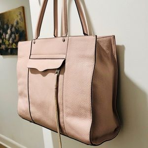 Rebecca Minkoff Large MAB Saffiano Leather Tote